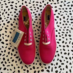 Vintage Ribbed Pink NWT Keds